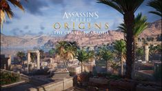 Taking place four years after the events of the main game, The Curse of the Pharaohs DLC kicks off with Bayek receiving an urgent letter from Amunet. Ps4, Assassins Creed Origins, Egypt, Assassin's Creed, Landscape, The Originals, Gaming, Google Search, Ps3