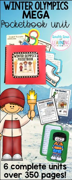 Practice reading comprehension skills while tying into the 2018 Winter Olympics! Perfect for first grade, second grade and third grade. There are six complete units all with a PowerPoint presentation. Units include Modern Olympics, Ancient Olympics, Ice Hockey, Bobsleigh, Figure Skating and Snowboarding.