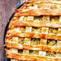 This delicious dinner recipe for Chicken, Green Chile and Potato Pie might look fancy but it's EASY and will become a family favorite!