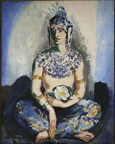 Kees van Dongen - Portrait de Anthony Cierplikowski Habillé le Front Oriental, 1927