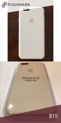 Apple iPhone 6 case Antique white Apple iPhone 6 silicone case. Used few times but still in new condition. No marks. Apple Accessories Phone Cases
