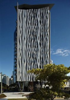 """They call this style """"biomimicry"""", as in, """"This building is biomimicing mangroves""""."""
