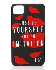 DIANE von FURSTENBERG iPhone Case - Be Yourself | Bloomingdale's