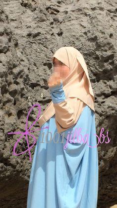 Detalle de las mangas de la abaya Hidaya.