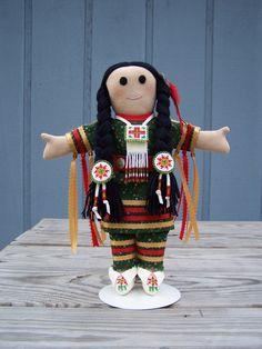 Interesting doll  https://www.etsy.com/listing/200570748/authentic-native-american-handmade