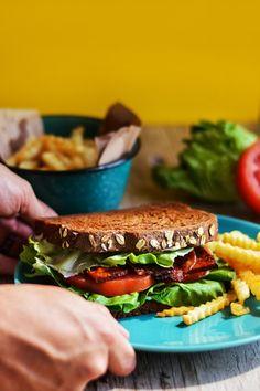 SANDWICH BLT VEGANO | Cocina Vegano - Recetas Veganas