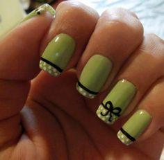 verdes con moño