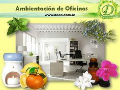 Ambientación de Oficinas con Aromaterapia