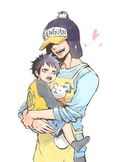 One Piece, Trafalgar Law, Penguin