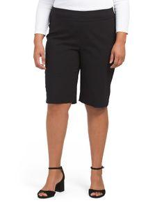 Plus Millenium Pull On Shorts