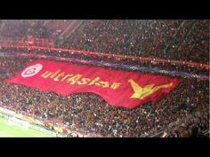 Coreografia Galatasaray vs Manchester United 21.11.2012