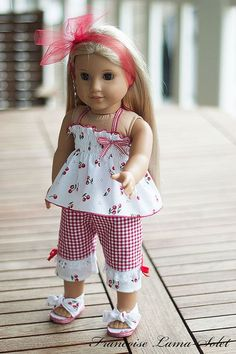 American Girl doll clothes 18 doll 4 pieces by francoiselamasolet,