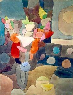 Paul Klee, Gladioli on ArtStack #paul-klee #art