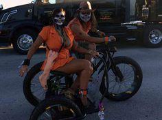 fun electric sidecar bike