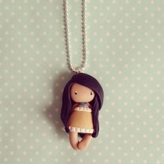collier Princesse - Princesse Pocahontas style Gorjuss