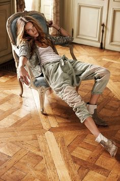 Erin Wasson for Zadig & Voltaire Spring 2012 Campaign by Fred Meylan #fashion