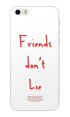 """Stranger Things - Friends Don't Lie"" iPhone Cases & Skins by Undersom 