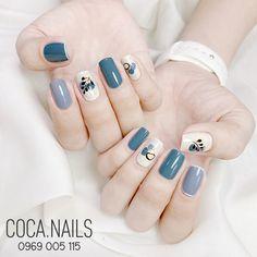 Pretty Nail Art, Cute Nail Art, Korea Nail, Cute Gel Nails, Nails Now, Stylish Nails, Manicure And Pedicure, Nail Arts, Swag Nails