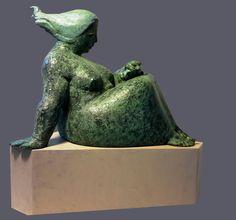 """""""Segesta"""" terracotta e legno. Dabide Tito scultore"""