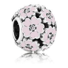 Pandora Charm Primelwiese rosafarben 791488EN68