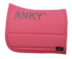 ANKY® Saddle Pad in Shocking Pink