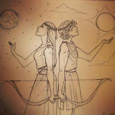 Apolo y artemisa
