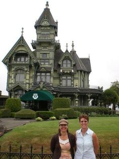Carson Mansion in Eureka Ca 7/26/07