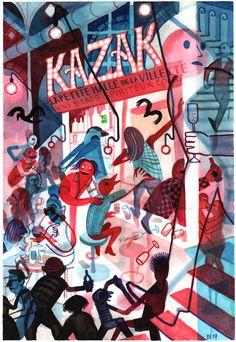 Kazak productions anniversary invitation, 2017
