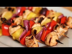 Amazing Grilled Kebabs 5 Delicious Ways (specific recipes are in the video description)