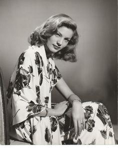 """bettybacallbeauty: """"Lauren Bacall,1940s """""""