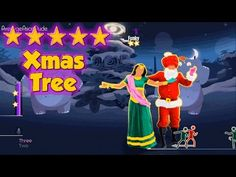 Christmas Tree - Just Dance 2015 Super fast!