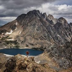 hiking in the Tetons - Jimmy Chin & co.