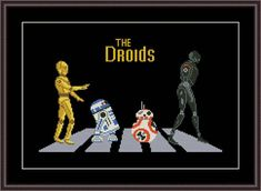 May the Force Be With You: 10 Star War Cross Stitch Patterns