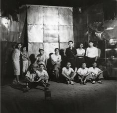 The Gutai Art Association photographed in 1954.