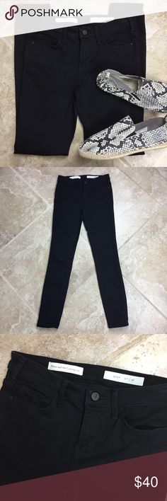 ANTHROPOLOGIE Pilcro Press Serif Jeans These jeans are in excellent condition! 14 inches across the waist. 8 inch rise. 29 inch inseam. Machine wash cold. 56% cotton 31% polyester 13% lyocell 1% spandex. Non-smoking pet free home.                                                 🔹suggested user🔹fast shipper🔹                                     🔸bundle to save 15%🔸300+ items🔸 Anthropologie Jeans Skinny