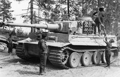 The early model Tiger I was a powerful beast designed specifically to deal with the shockingly good armor that was being fielded by the Soviets on the Eastern Front. Pound for pound the Tiger was an ungodly beast that could take on any tank it came across with extreme confidence. The common belief was that it would take ten Shermans to take out a Tiger, and nine wouldn't be making it home. The 88mm flak could engage enemy tanks at greater ranges than its foes could respond from with high ...