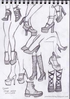 Faces with Graphite Pencils Dibujos de zapatos a lpiz . Pencil drawing of shoes.Dibujos de zapatos a lpiz . Pencil drawing of shoes. Pencil Art Drawings, Art Drawings Sketches, Easy Drawings, Shoe Sketches, Drawings Of Faces, Art Reference Poses, Drawing Reference, Design Reference, Drawing Techniques