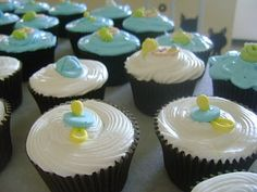 Cupcakes for birth of baby