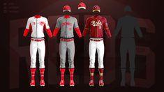 MLB Jerseys Redesigned on Behance Mlb Uniforms, Mlb Teams, Behance