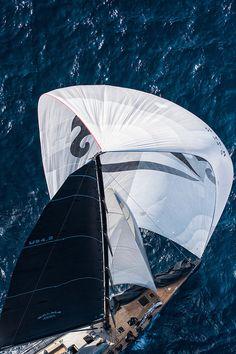 "France Saint - Tropez October 2013, Wally Class racing at the Voiles de Saint - Tropez """