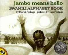 This ABC BOOK gives us a twist to things. This book shares the alphabet with us, all while also giving us Swahilian facts. It is not your typical ABC book, but if you are looking for some multicultural education with still learning the basics, this is the book for you! :-)