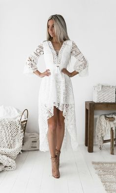 Boho Dress (Available from: https://dropdeaddollbaby.com/collections/dresses/products/boho-high-low-dress)
