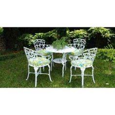 Jogo 4 Cadeiras 1 Mesa Conjunto Viena Para Jardim E Varanda