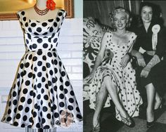 Marilyn Monroe Dress Pinup Rockabilly by PsychedelicPinup on Etsy, $110.00