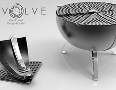 "Check out new work on my @Behance portfolio: ""Revolve - Portable Charcole BBQ"" http://be.net/gallery/37456315/Revolve-Portable-Charcole-BBQ"