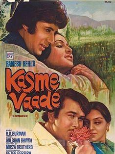 Love Songs Hindi, Song Hindi, Hindi Movies, Amitabh Movies, Old Film Posters, Movie Pic, Bollywood Posters, Thing 1, Amitabh Bachchan