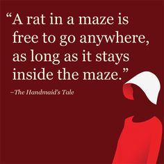 The 10 Best Quotes from The Handmaid's Tale by Margaret Atwood Handmaids Tale Quotes, A Handmaids Tale, Literary Quotes, Movie Quotes, Book Quotes, Wisdom Quotes, The Handmaid's Tale Book, Handmade Tale, Margaret Atwood