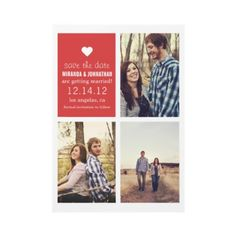 cute save the dates #wedding