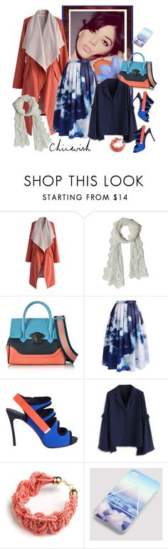 """""""CHICWISH.COM SPONSORED CONTEST - WIN $80!"""" by carola-corana ❤ liked on Polyvore featuring Chicwish, ASOS, Versace, Dsquared2 and chicwish"""