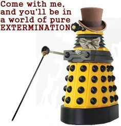 Seriously, can Daleks: The Musical happen????? #DoctorWho